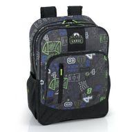 Corners Basket Print Gabol Schoolbag for Boys