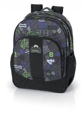 Corner Basket Print Gabol Schoolbag for Boys